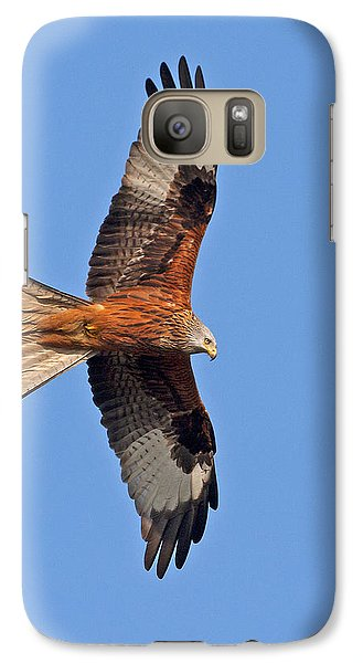 Galaxy Case featuring the photograph Red Kite by Paul Scoullar