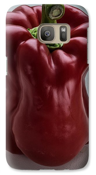 Galaxy Case featuring the photograph Red Pepper by Vladimir Kholostykh