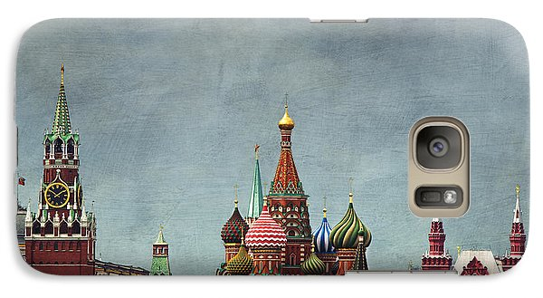 Red Square Moscow Galaxy S7 Case