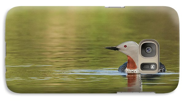 Loon Galaxy S7 Case - Red-throated Loon by Ken Archer