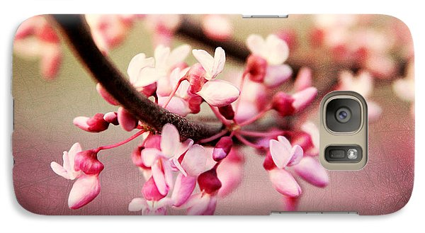 Galaxy Case featuring the photograph Redbud Blossoms by Trina  Ansel