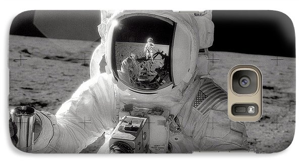 Astronaut Galaxy S7 Case - Reflecting by Jon Neidert