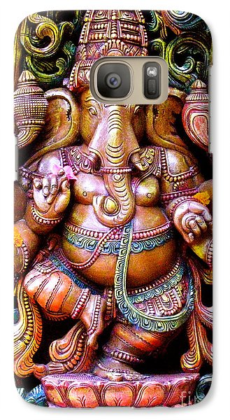 Galaxy Case featuring the photograph Remover Of Obstacles by Roselynne Broussard