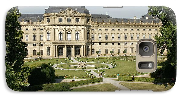 Galaxy Case featuring the photograph Residenz Wurzburg  by Christian Zesewitz