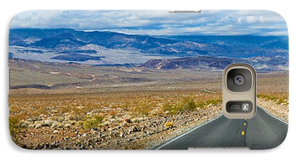 Road Passing Through A Desert, Death Galaxy Case by Panoramic Images