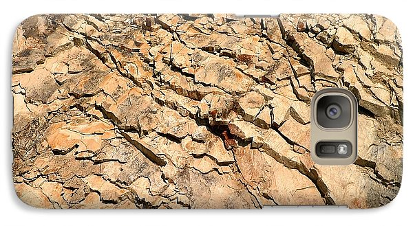 Galaxy Case featuring the photograph Rock Wall by Henrik Lehnerer