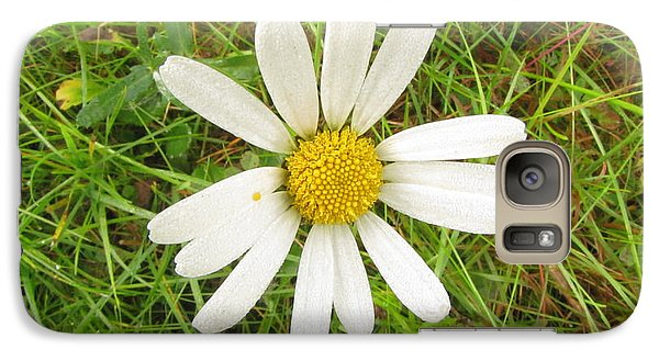 Galaxy Case featuring the photograph Romashka by Yury Bashkin