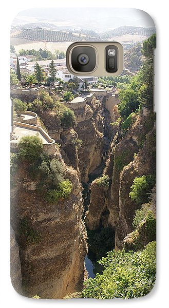 Galaxy Case featuring the photograph Ronda by Christian Zesewitz