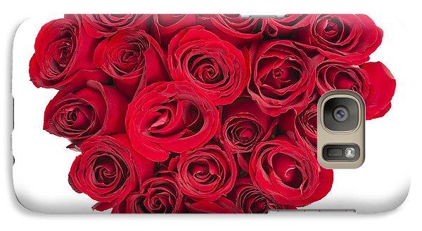 Rose Galaxy S7 Case - Rose Heart by Elena Elisseeva