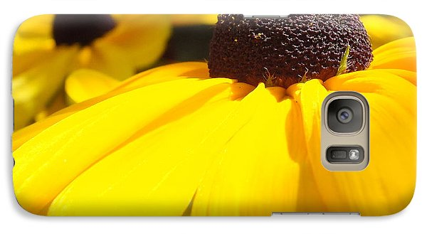 Galaxy Case featuring the photograph Rudbeckia Up Close by Gene Cyr