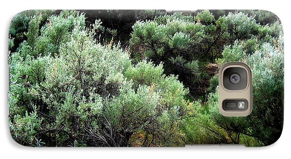 Galaxy Case featuring the photograph Sage by Kathy Bassett