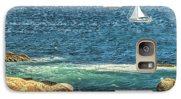 Galaxy Case featuring the photograph Sailing by Raymond Earley