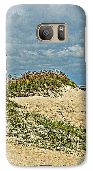 Galaxy Case featuring the photograph Sand Dunes by Eve Spring