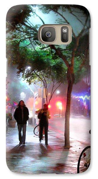 Galaxy Case featuring the photograph Santa Monica Secrets by Jennie Breeze