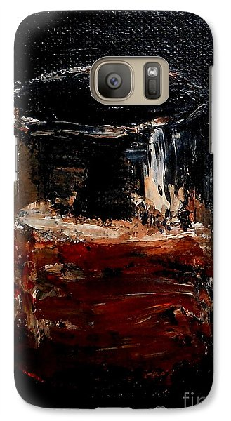 Galaxy Case featuring the painting Scotch Neat by Fred Wilson