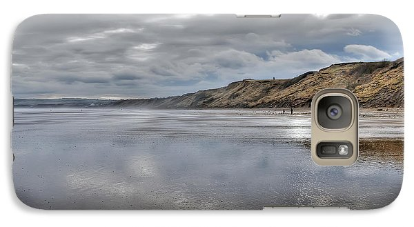 Galaxy Case featuring the photograph Seascape by Gouzel -
