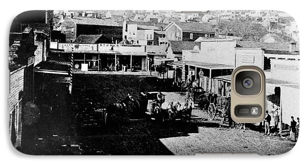 Galaxy Case featuring the photograph Seattle, Washington, 1880s by Granger