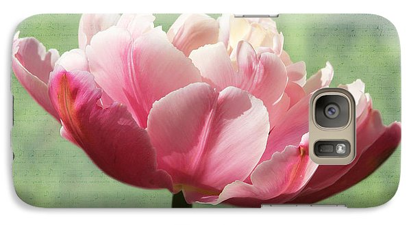 Galaxy Case featuring the photograph Sending Of Flowers by Trina  Ansel
