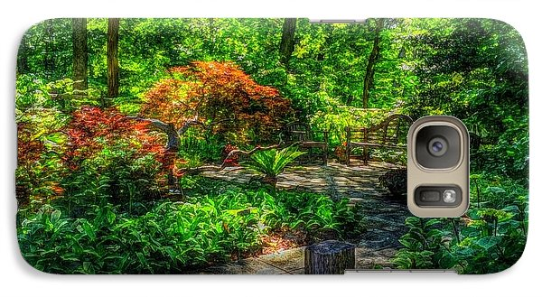Galaxy Case featuring the photograph Serenity by Becky Lupe