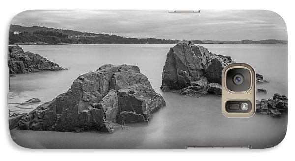 Galaxy Case featuring the photograph Seselle Beach Galicia Spain by Pablo Avanzini