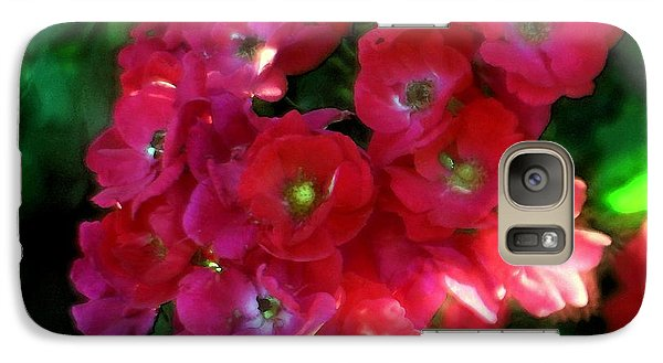 Galaxy Case featuring the photograph Shades Of Red by Mary Lou Chmura
