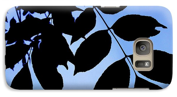 Galaxy Case featuring the photograph Shadows by Lucy D