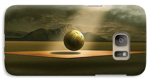 Galaxy Case featuring the digital art Shining by Franziskus Pfleghart