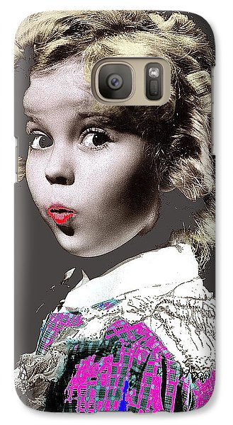 Shirley Temple Publicity Photo Circa 1935-2014 Galaxy S7 Case