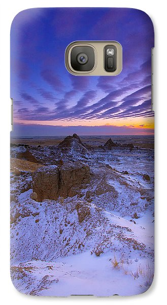 Galaxy Case featuring the photograph Sky Lines by Kadek Susanto