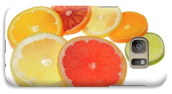 Slices Of Citrus Fruit Galaxy S7 Case