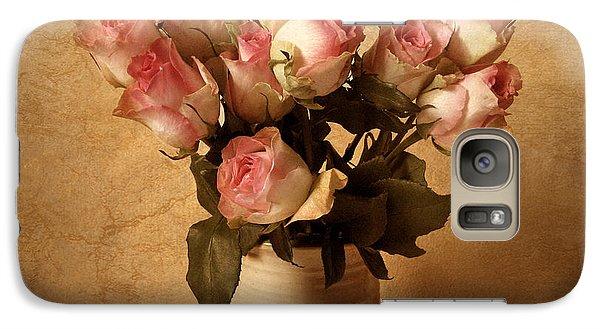Rose Galaxy S7 Case - Soft Spoken by Jessica Jenney