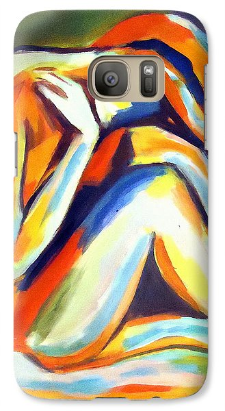 Galaxy Case featuring the painting Solitude by Helena Wierzbicki