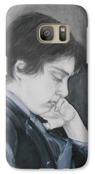 Galaxy Case featuring the mixed media Some Kind Of Wonderful by Jane  See