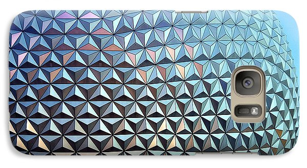 Galaxy Case featuring the photograph Spaceship Earth by Cora Wandel