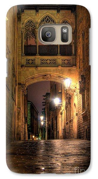 Galaxy Case featuring the photograph Spirit Of Gaudi by Erhan OZBIYIK