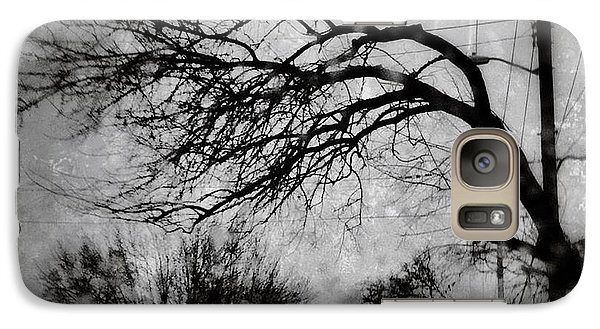Galaxy Case featuring the photograph Spooky Tree by Toni Martsoukos