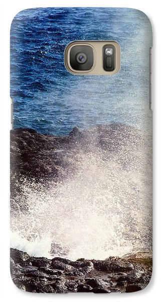 Galaxy Case featuring the photograph Spouting Horn by Alohi Fujimoto