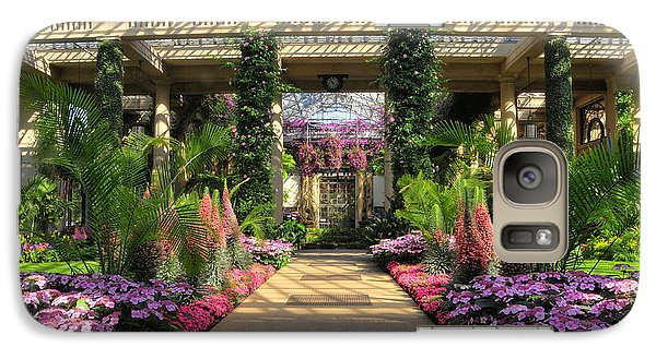 Galaxy Case featuring the photograph Springtime At Longwood Gardens by Dan Myers