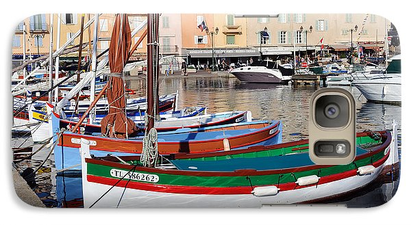 Galaxy Case featuring the photograph St. Tropez - France by Haleh Mahbod
