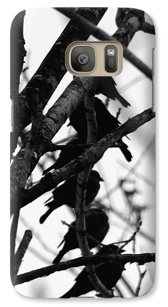 Galaxy Case featuring the photograph Stacked by Wanda Brandon