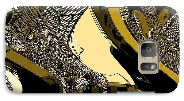 Galaxy Case featuring the photograph Stairway by Steve Godleski