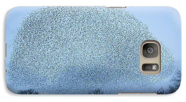 Starlings Flying To Roost Galaxy S7 Case