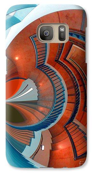 Galaxy Case featuring the digital art Step by Nico Bielow