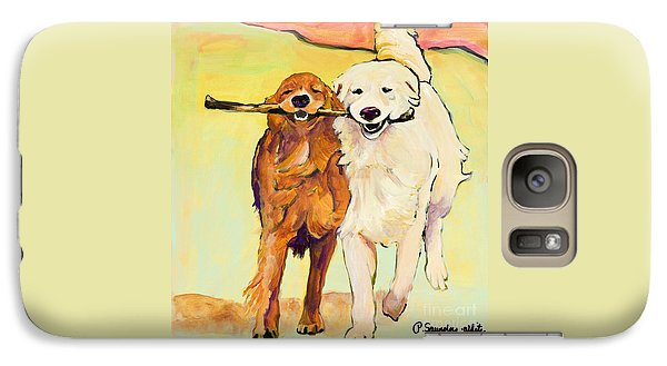 Dog Galaxy S7 Case - Stick With Me by Pat Saunders-White