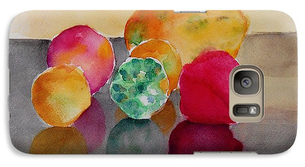 Galaxy Case featuring the painting Still Life Fruits by Geeta Biswas