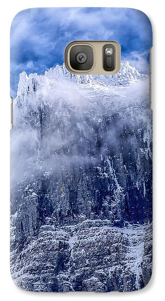 Galaxy Case featuring the photograph Stone Cold by Aaron Aldrich