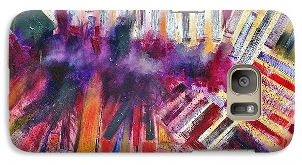 Galaxy Case featuring the painting Storm Brewer by Jason Williamson