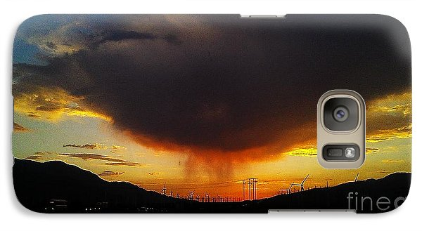 Galaxy Case featuring the photograph Storms Coming by Chris Tarpening