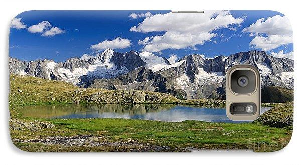 Galaxy Case featuring the photograph Strino Lake - Italy by Antonio Scarpi