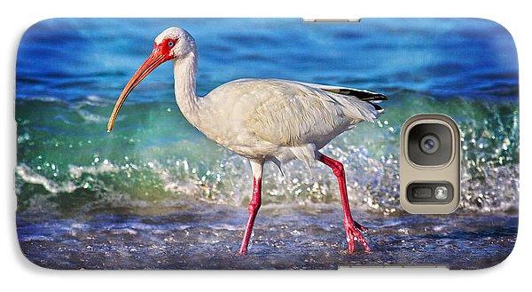Ibis Galaxy S7 Case - Strolling by Betsy Knapp